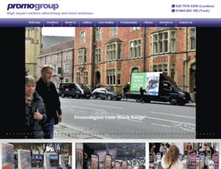 promobikes.co.uk screenshot