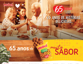 promocaomabel.com.br screenshot