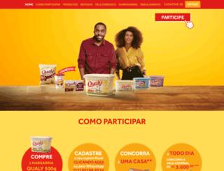 promocaoqualy.com.br screenshot