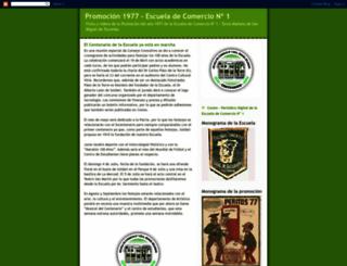 promocion1977-escueladecomercio1.blogspot.com.ar screenshot