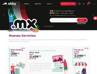 promociones.akky.mx screenshot