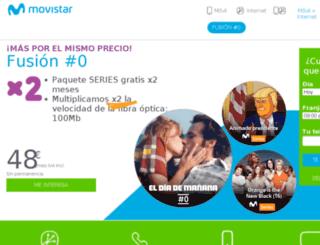 promociones.movistar.es screenshot