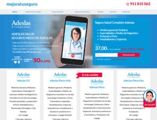 promocionesadeslas.es screenshot