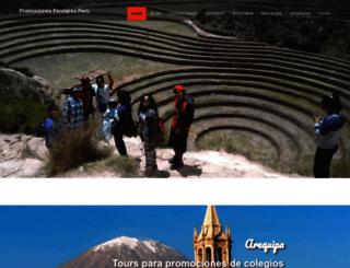 promocionesescolaresperu.com screenshot