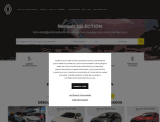 promocionesocasion.renault.es screenshot
