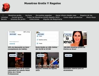 promocionesycolecciones.com screenshot