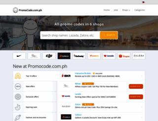 promocode.com.ph screenshot