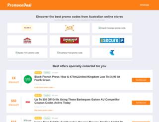 promocodeal.com screenshot