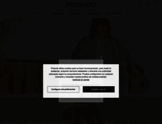 promod.es screenshot