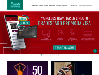 promoda.com.mx screenshot