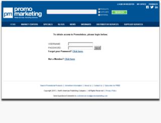 promoinbox.promomarketing.com screenshot
