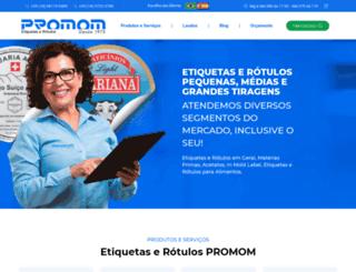 promom.com.br screenshot