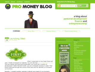 promoneyblog.com screenshot