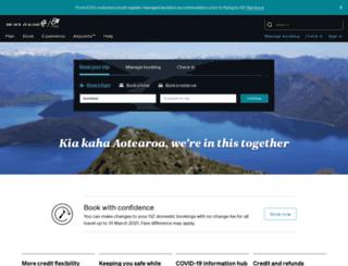 promos.airnewzealand.co.nz screenshot