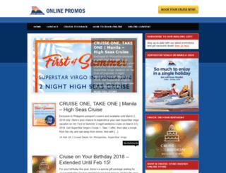 promos.starcruises.com screenshot