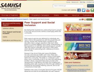 promoteacceptance.samhsa.gov screenshot