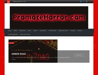promotehorror.com screenshot