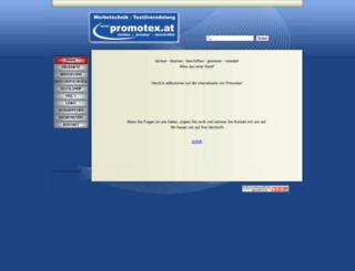 promotex.at screenshot