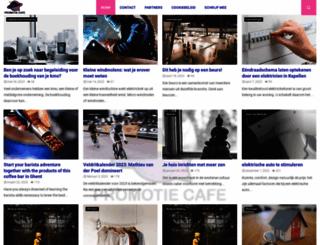 promotiecafe.be screenshot