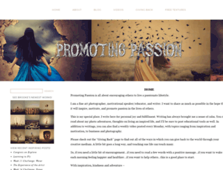 promotingpassion.com screenshot