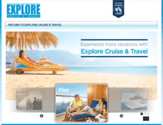 promotion.explorecruisetravel.com screenshot