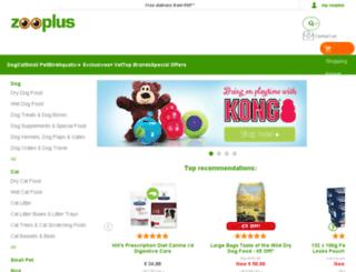 promotion.zooplus.com screenshot