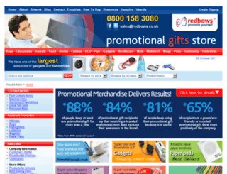 promotionalgiftsstore.co.uk screenshot