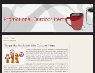 promotionaloutdooritems.jimdo.com screenshot
