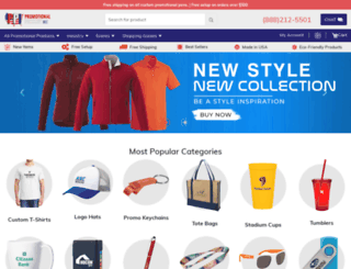 promotionalproductinc.com screenshot