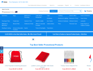 promotionsonline.com.au screenshot