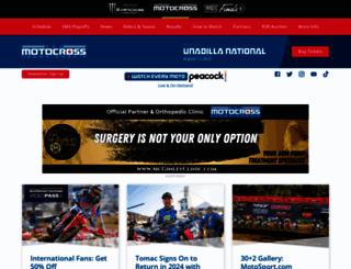 promotocross.com screenshot