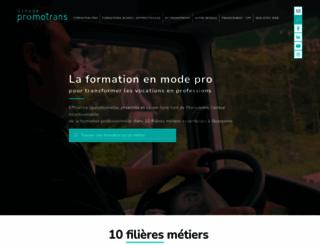 promotrans.fr screenshot