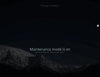 promptinfotech.com screenshot