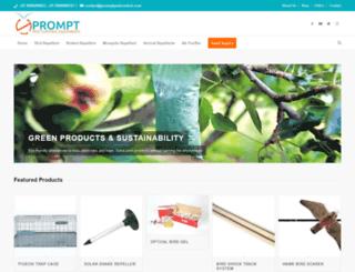 promptpestcontrol.com screenshot