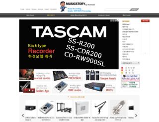 promusicstory.com screenshot