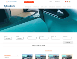pronadjiauto.com screenshot