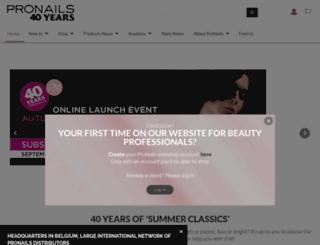pronails.com screenshot