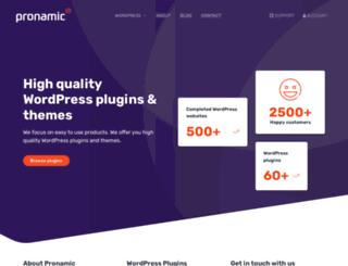 pronamic.eu screenshot