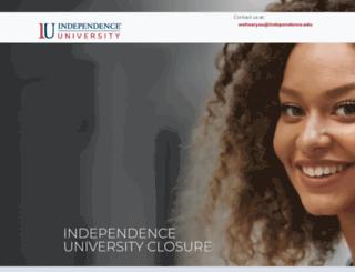 pronto.independence.edu screenshot