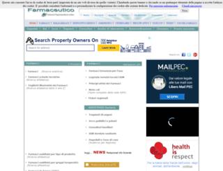 prontuariofarmaceutico.it screenshot