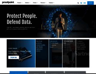proofpointessentials.com screenshot