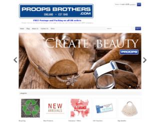 proopsbrothers.com screenshot