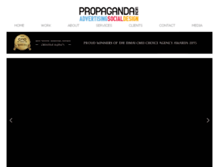 propaganda-india.com screenshot