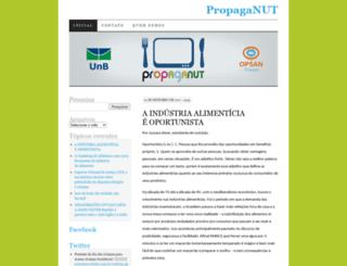 propaganut.wordpress.com screenshot