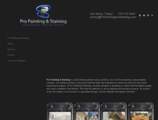 propaintingandstaining.com screenshot