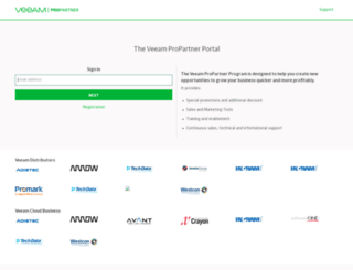 propartner.veeam.com screenshot
