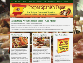 proper-spanish-tapas.com screenshot