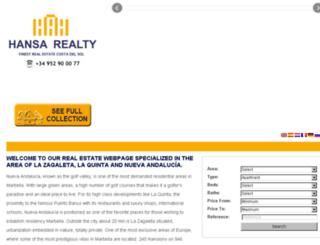 properties-immobilien-nuevaandalucia-lazagaleta-laquinta.com screenshot