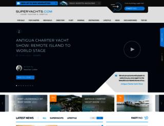 properties.superyachts.com screenshot