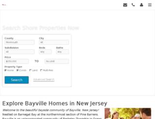 propertiesattheshore.realgeeks.com screenshot